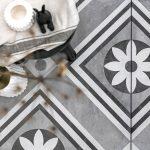 Flower Decoratie keramische tegel
